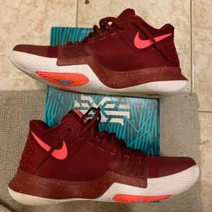 """Nike Shoes - Kyrie 3 """"Team Red"""""""